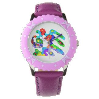 Joyfull lustige colourfull Uhr