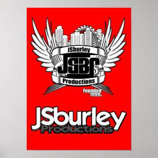 JSburley Slogan-Plakat
