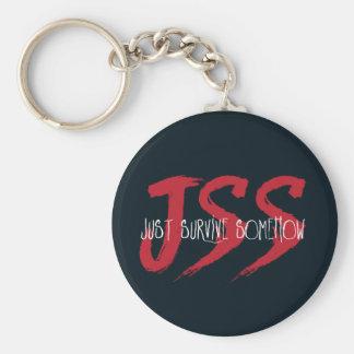 JSS überleben gerade irgendwie Schlüsselanhänger