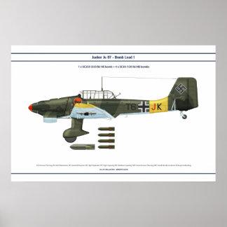 Ju 87 Last 1 Poster