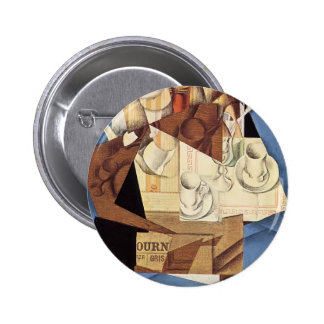 Juan Gris: Frühstück Anstecknadel