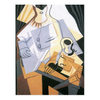 Juan Gris - Pierrot Postkarten