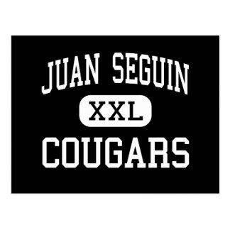 Juan Seguin - Pumas - hoch - Arlington Texas Postkarte