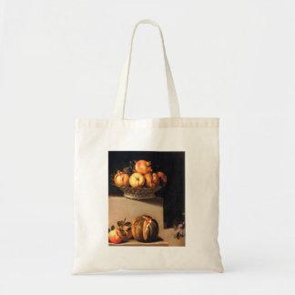 Juan van Der Hamen - Stillleben mit Frucht und Gla Einkaufstaschen