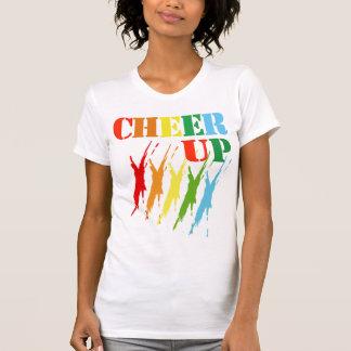 JUBELN Sie OBEN/T - Shirts, Kleiderbunter Entwurf T-Shirt