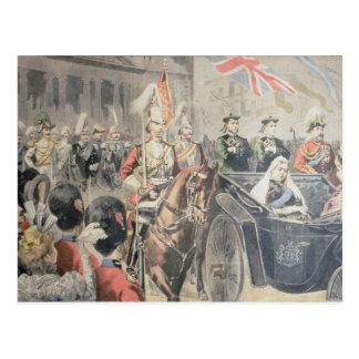 Jubiläum der Königin von England Postkarte