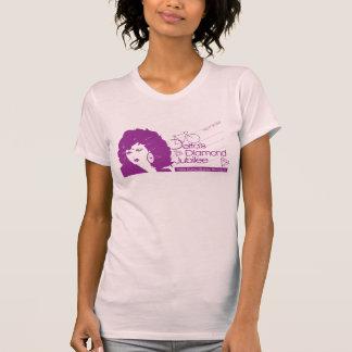 Jubiläum: Lila Siebdruck T-Shirt
