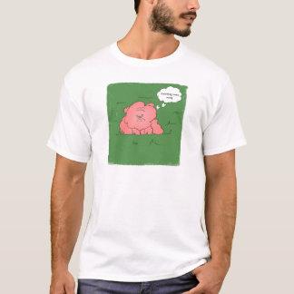 Juckende Bulldogge T-Shirt
