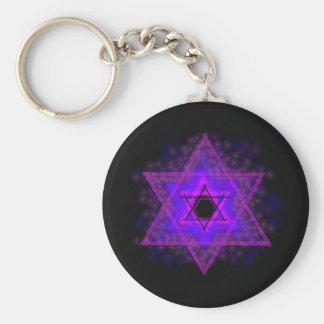 Judaika,…, glühend in Dunkelheit Schlüsselanhänger