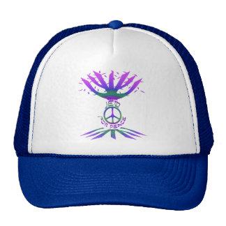 Jude für Hüte des Friedens Farbe Retrokultmütze