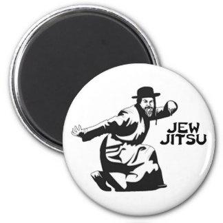 Jude Jitsu Magnet Runder Magnet 5,1 Cm