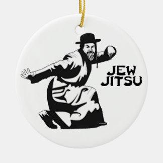 Jude Jitsu Verzierung Rundes Keramik Ornament