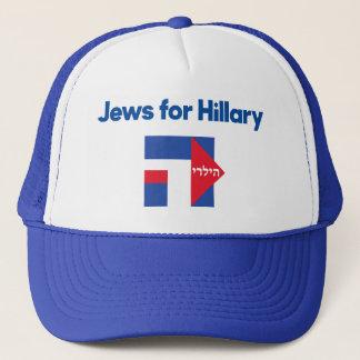 JUDEN Hillary Clinton-Hebräerpräsidentenhut 2016 Truckerkappe