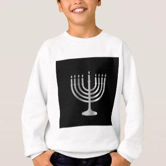 Judentum Menorah Sweatshirt
