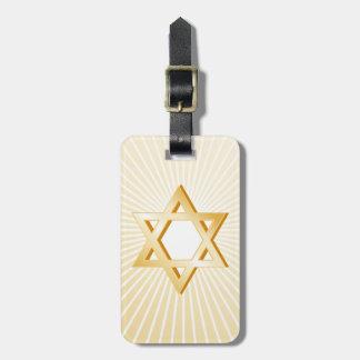 Judentums-Symbol Kofferanhänger
