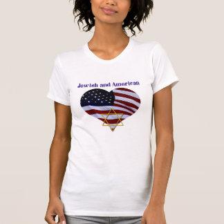 Jüdisch UND amerikanisch T-Shirt