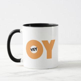 Jüdische Geschenk-Kaffee Tasse-Oy Tasse