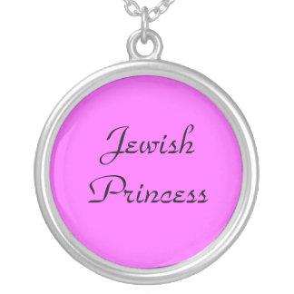 Jüdische Prinzessin Necklace Versilberte Kette