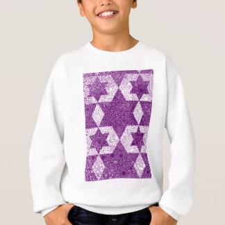 Jüdische Zeichen-Art entworfen in Jerusalem Sweatshirt