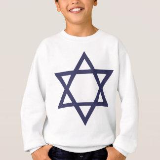 Jüdischer Davidsstern Symbol Sweatshirt