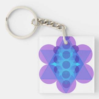 Jüdischer Geschenk-Schlüssel Kette-Stern von David Schlüsselanhänger