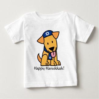 Jüdisches Labrador retriever Hündchen Chanukkas Baby T-shirt