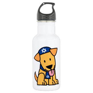 Jüdisches Labrador retriever Hündchen Chanukkas Trinkflasche