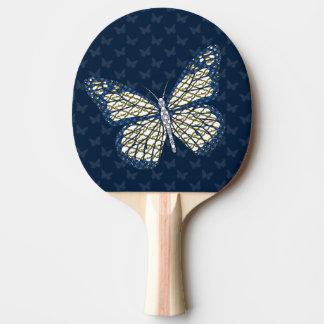 Jüdisches Monarch-Klingeln Pong Paddel Tischtennis Schläger