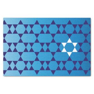 Jüdisches SternSeidenpapier Seidenpapier