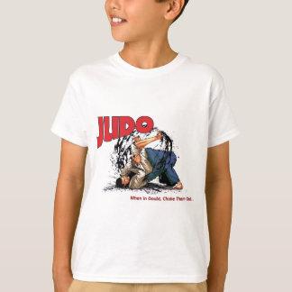 Judo erdrosselt heraus T-Shirt