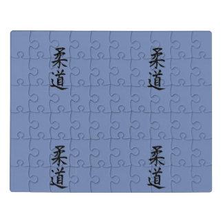 Judo-Kanji-Puzzlespiel Puzzle