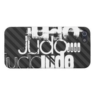Judo; Schwarze u. dunkelgraue Streifen iPhone 5 Case