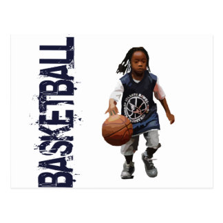 Jugend-Basketball Postkarte