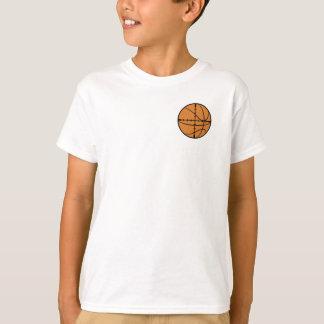 Jugend-Basketball-Schießen-Strecken-Shirt T-Shirt