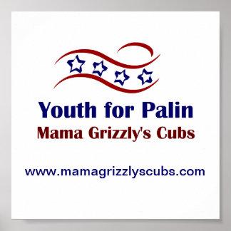 Jugend für Palin Produkte Poster