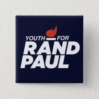 Jugend für quadratischen Kampagnen-Knopf Quadratischer Button 5,1 Cm
