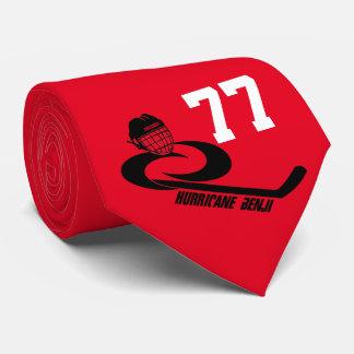 Jugend-Hockey-Team-Krawatte des Hurrikan-BENJI Individuelle Krawatten