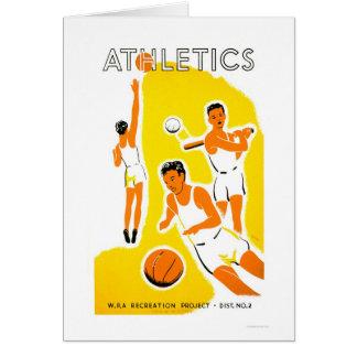 Jugend-Leichtathletik-Projekt WPA 1939 Karte