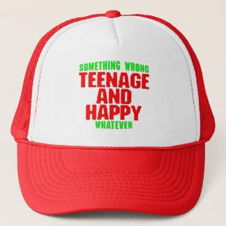 Jugend- und glücklich truckerkappe