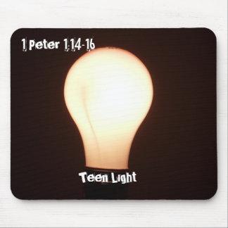 Jugendlich Glühlampe Mousepad