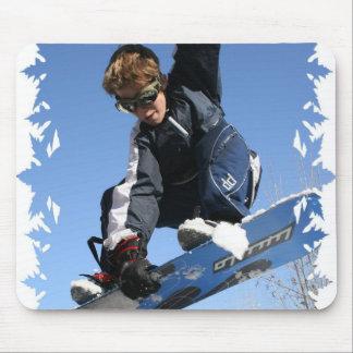 Jugendlich-Snowboarding-Mausunterlage Mousepads
