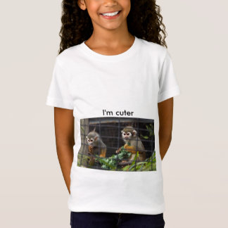jugendlich, T-Shirts, lustig, niedlich, Affe, T-Shirt