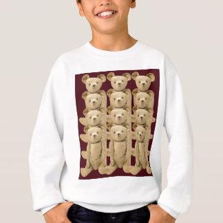 Jugendlich Teddy-Bären Lang-Hülse T - Shirt