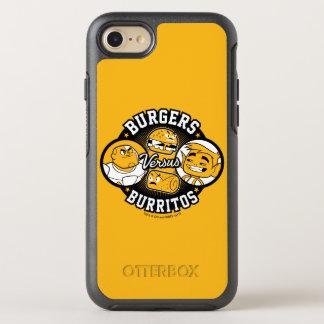 Jugendlich Titanen gehen! | Burger gegen Burritos OtterBox Symmetry iPhone 8/7 Hülle