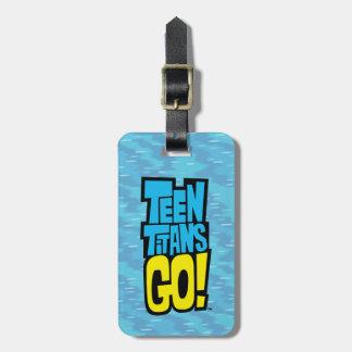 Jugendlich Titanen gehen! | Logo Gepäckanhänger