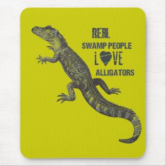 Jugendliche AlligatorLiebe Mousepads