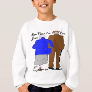JUGENDLICHE PLUS LONGTEMPS.png Sweatshirt