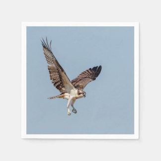 Jugendlicher Osprey im Flug Papierservietten
