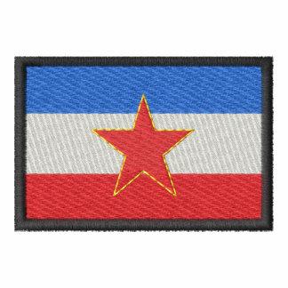 Jugoslawien Bestickte Sportjacken