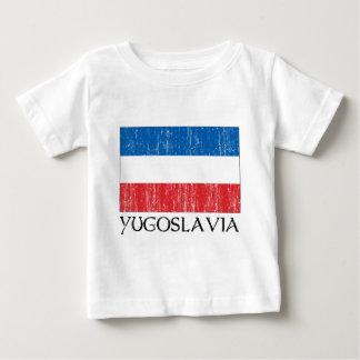 Jugoslawien-Flagge Baby T-shirt